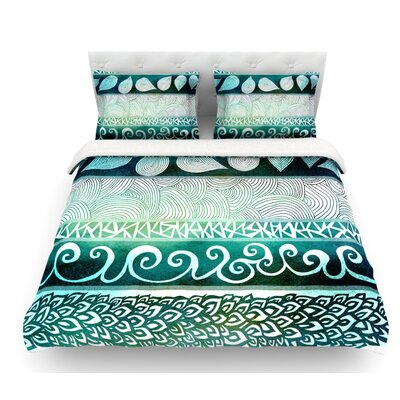 Dreamy Tribal by Pom Graphic Design Featherweight Duvet Cover Size: Twin