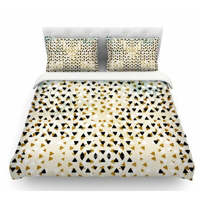 Diamond Sky by Pom Graphic Design Featherweight Duvet Cover Size: Twin