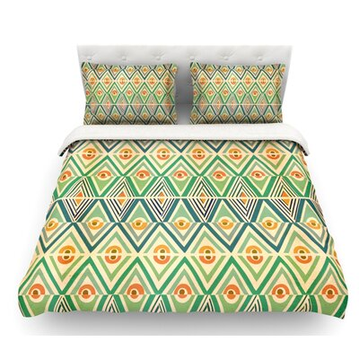 Celebration by Pom Graphic Design Featherweight Duvet Cover Size: King