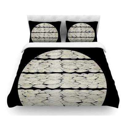 La Luna by Pom Graphic Design Nature Illustration Featherweight Duvet Cover Size: Twin