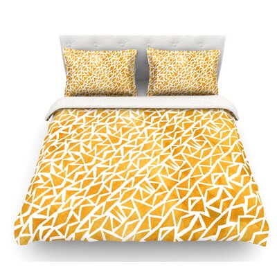 Tribal Origin by Pom Graphic Design Featherweight Duvet Cover Size: Queen