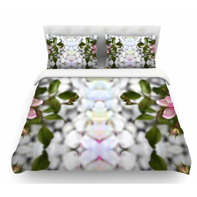Roses L by Pia Schneider Featherweight Duvet Cover Size: Queen