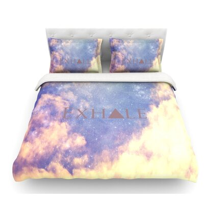 Exhale by Rachel Burbee Featherweight Duvet Cover Size: Queen