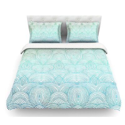 Clouds in the Sky by Pom Graphic Design Featherweight Duvet Cover Size: Queen