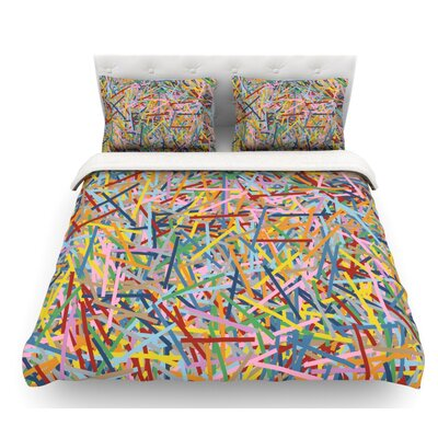 More Sprinkles by Project M Featherweight Duvet Cover Size: Twin