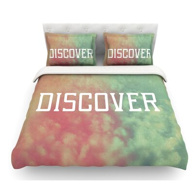 Discover by Rachel Burbee Featherweight Duvet Cover Size: Twin