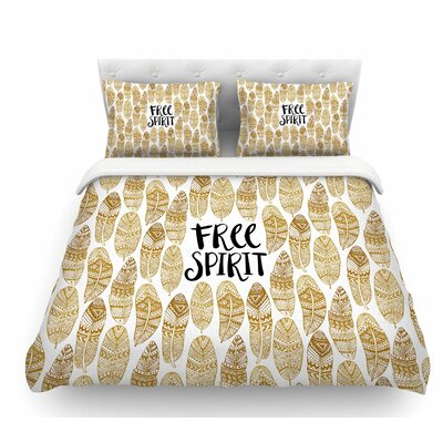 Free Tribal Spirit by Pom Graphic Design Featherweight Duvet Cover Size: Queen