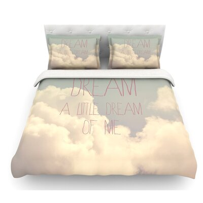 Dream of Me by Rachel Burbee Featherweight Duvet Cover Size: Queen