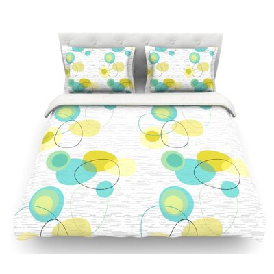 Vaniretro by Nina May Featherweight Duvet Cover Size: Queen