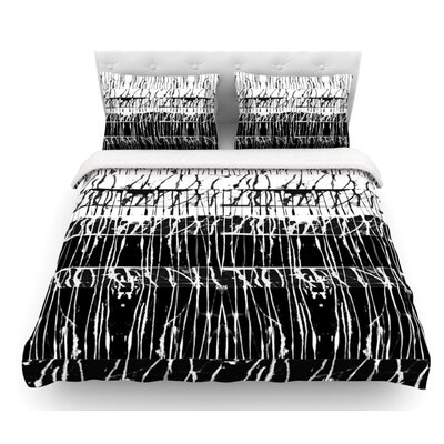 Century City Splatter by Nina May Featherweight Duvet Cover Size: King