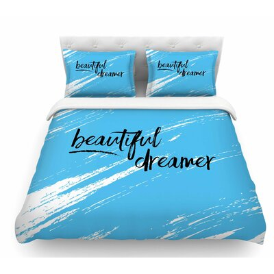 Beautiful Dreamer by NL Designs Featherweight Duvet Cover Size: Queen