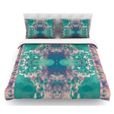 Ashby Blossom by Nina May Featherweight Duvet Cover Size: Twin