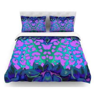 Cerruda Orchid by Nina May Featherweight Duvet Cover Size: Twin