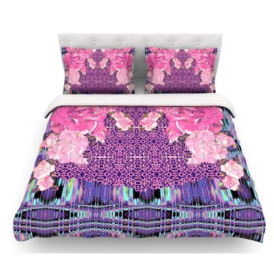 Lepparo by Nina May Featherweight Duvet Cover Size: Queen