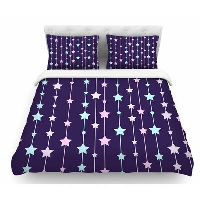 Twinkle Twinkle Little Star by NL Designs Pastel Featherweight Duvet Cover Size: Queen