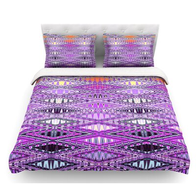 Orche Kilim by Nina May Featherweight Duvet Cover Size: King