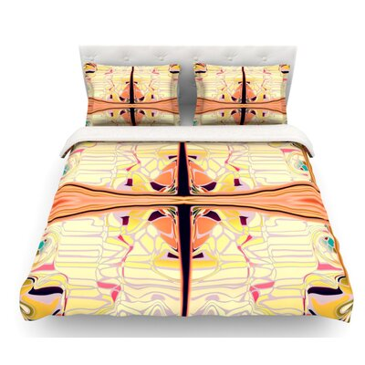 Naranda by Nina May Featherweight Duvet Cover Size: Twin