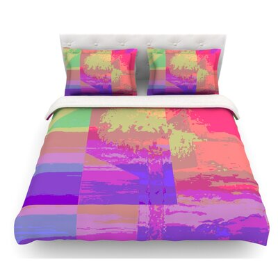 Impermiate Poster by Nina May Featherweight Duvet Cover Size: Queen