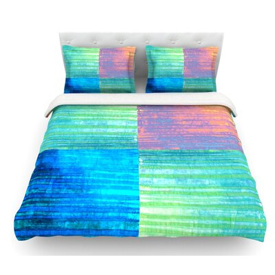 Crayon Batik by Nina May Featherweight Duvet Cover Size: King