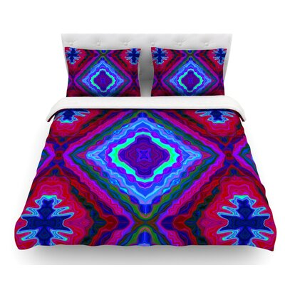 Kilim by Nina May Featherweight Duvet Cover Size: King