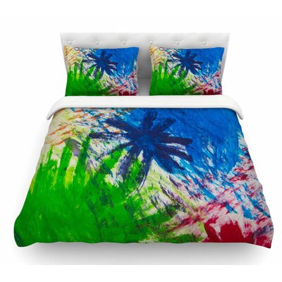 Splatter Stars by NL Designs Abstract Featherweight Duvet Cover Size: Queen