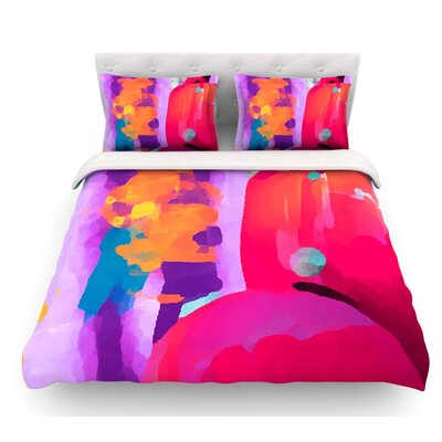 Vespa II by Oriana Cordero Featherweight Duvet Cover Size: King