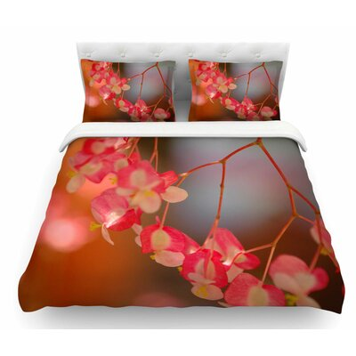 Hanging Flowers by NL Designs Floral Featherweight Duvet Cover Size: King