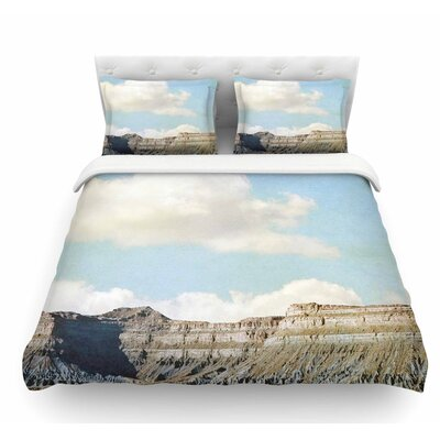Out West by Sylvia Coomes Featherweight Duvet Cover Size: Twin