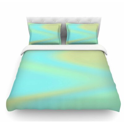 Sea Swirl by Sylvia Coomes Featherweight Duvet Cover Size: King