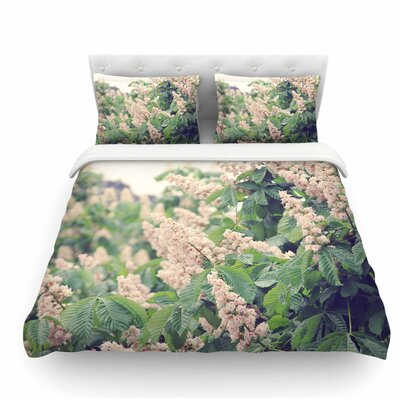 Breath of Fresh Air by Sylvia Coomes Floral Featherweight Duvet Cover Size: King