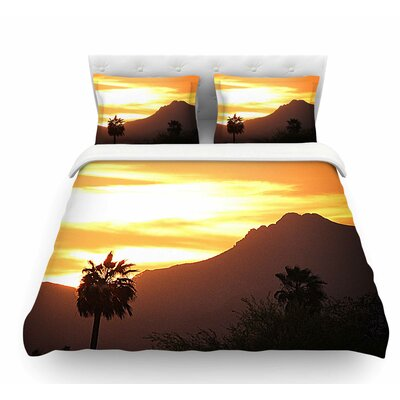 Tucson Sunset Duvet Cover Size: King