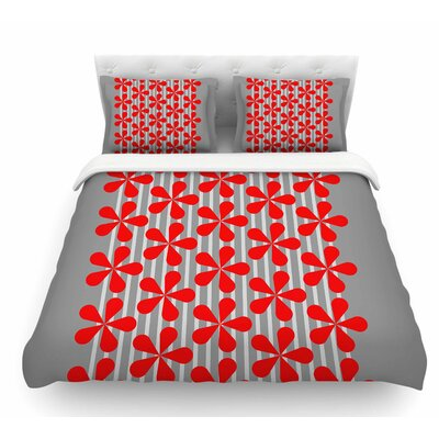 Crvena by Trebam Featherweight Duvet Cover Size: Twin