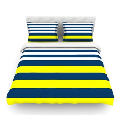Nauticki by Trebam Featherweight Duvet Cover Size: Twin