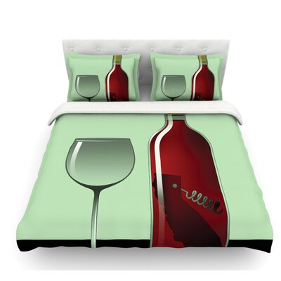 California Wine by Thomas Fuchs Featherweight Duvet Cover Size: Twin