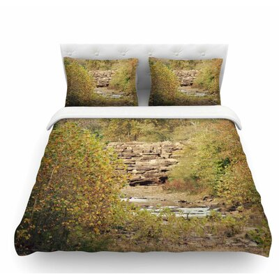 In the Woods 4 by Sylvia Coomes Nature Featherweight Duvet Cover Size: Queen