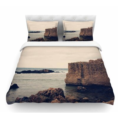 Mediterranean L by Sylvia Coomes Featherweight Duvet Cover Size: Twin