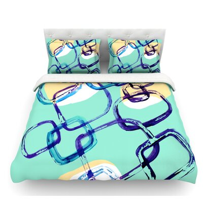 Sixties Exposure by Theresa Giolzetti Featherweight Duvet Cover Size: Twin