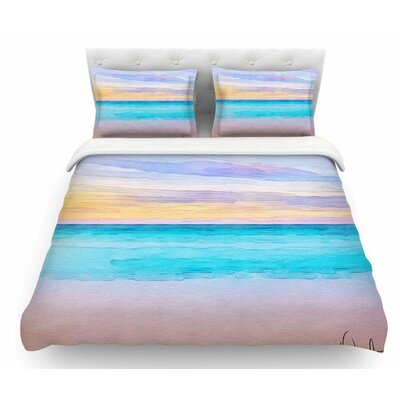 Las Terrenas by Oriana Cordero Featherweight Duvet Cover Size: Queen