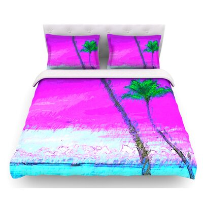 Caribe S by Oriana Cordero Featherweight Duvet Cover Size: Twin