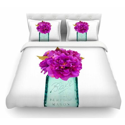 Perfect Mason V3 by Oriana Cordero Featherweight Duvet Cover Size: King