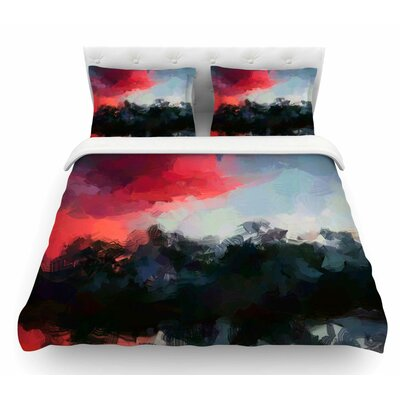 Montserrat by Oriana Cordero Featherweight Duvet Cover Size: King