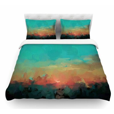 Martinique by Oriana Cordero Featherweight Duvet Cover Size: Twin