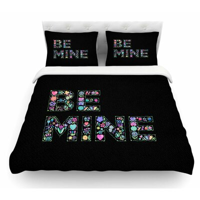 Be Mine by Noonday Design Love Featherweight Duvet Cover Size: King