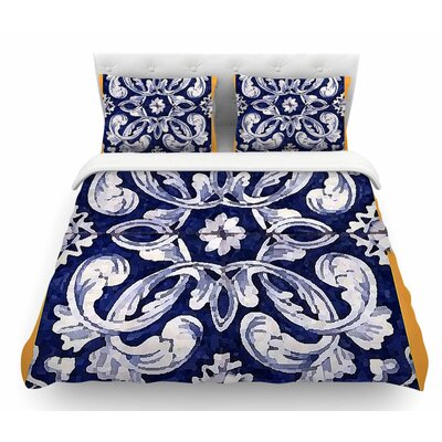 Lisboa by Oriana Cordero Featherweight Duvet Cover Size: Queen
