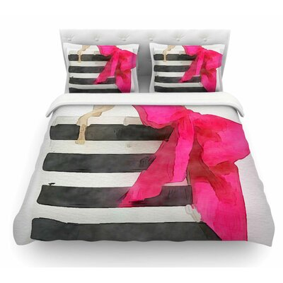 French Outing by Oriana Cordero Featherweight Duvet Cover Size: Twin
