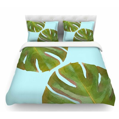 Tropico V2 by Oriana Cordero Featherweight Duvet Cover Size: King