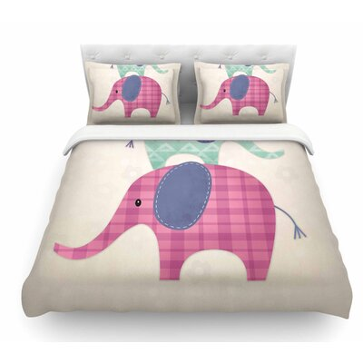 Balancing Act by Noonday Design Kids Featherweight Duvet Cover Size: Queen