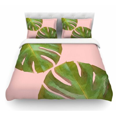 Tropico V3 by Oriana Cordero Featherweight Duvet Cover Size: Queen