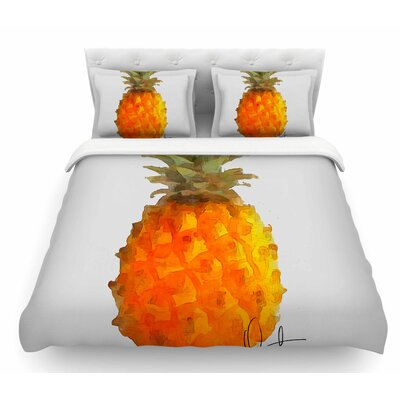 Before Pina Colada by Oriana Cordero Featherweight Duvet Cover Size: Queen