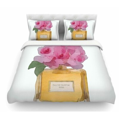 Eau De Parfum V3 by Oriana Cordero Featherweight Duvet Cover Size: Twin